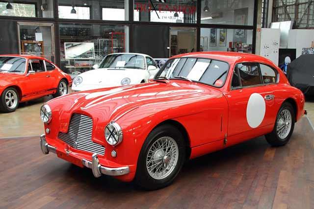 classic 1953 Aston Martin DB2