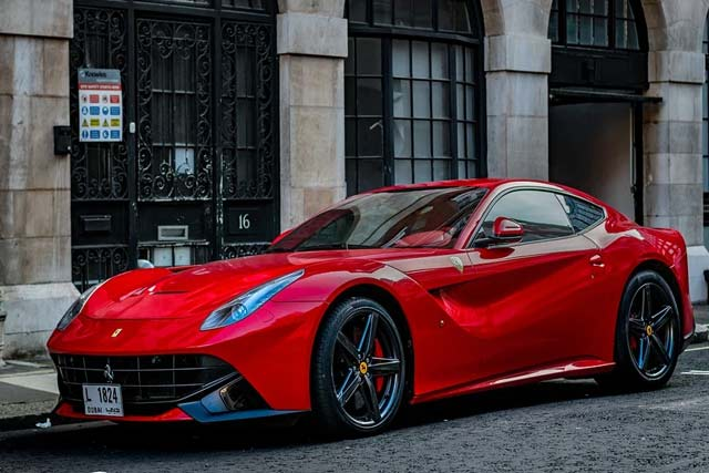 Ferrari F12 Berlinetta super car